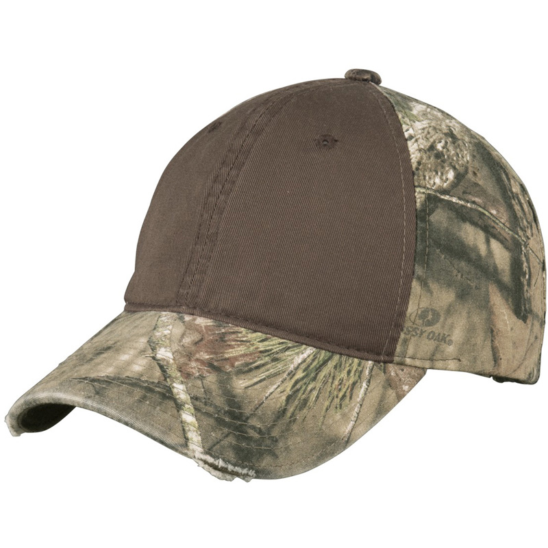 Port Authority ®  Camo Cap with Contrast Front Panel. C807