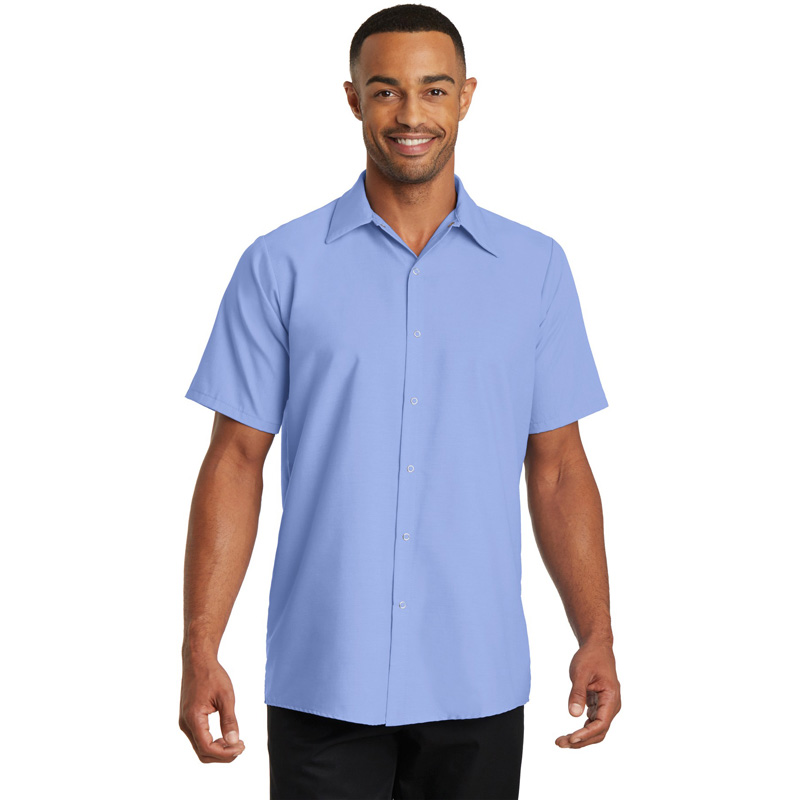 Red Kap ®  - Short Sleeve Pocketless Gripper Shirt. CS26