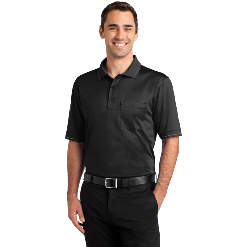 CornerStone ®  Select Snag-Proof Tipped Pocket Polo. CS415