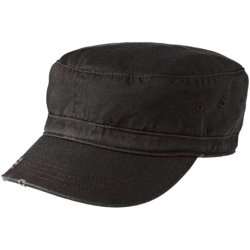 District ®  - Distressed Military Hat.  DT605