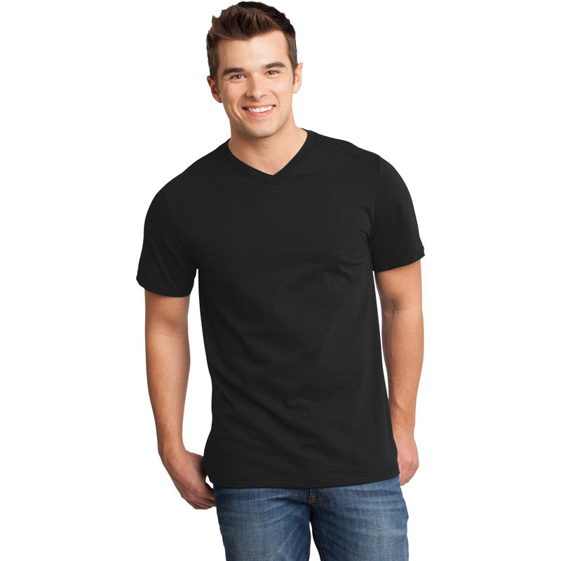 District ®  - Young Mens Very Important Tee ®  V-Neck. DT6500