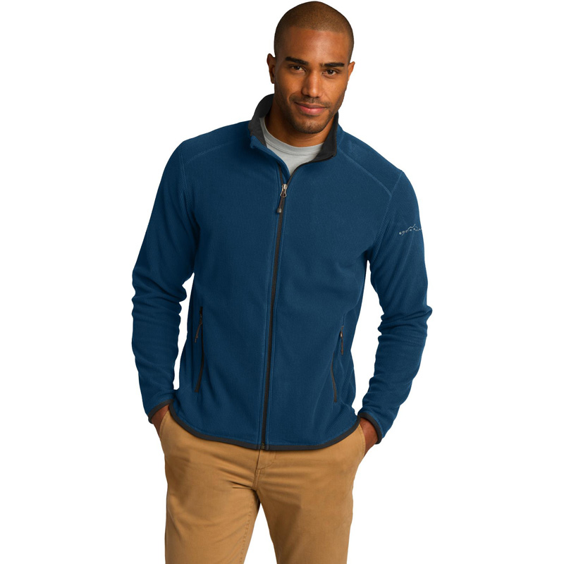 Eddie Bauer 174  Full-Zip Vertical Fleece Jacket. EB222