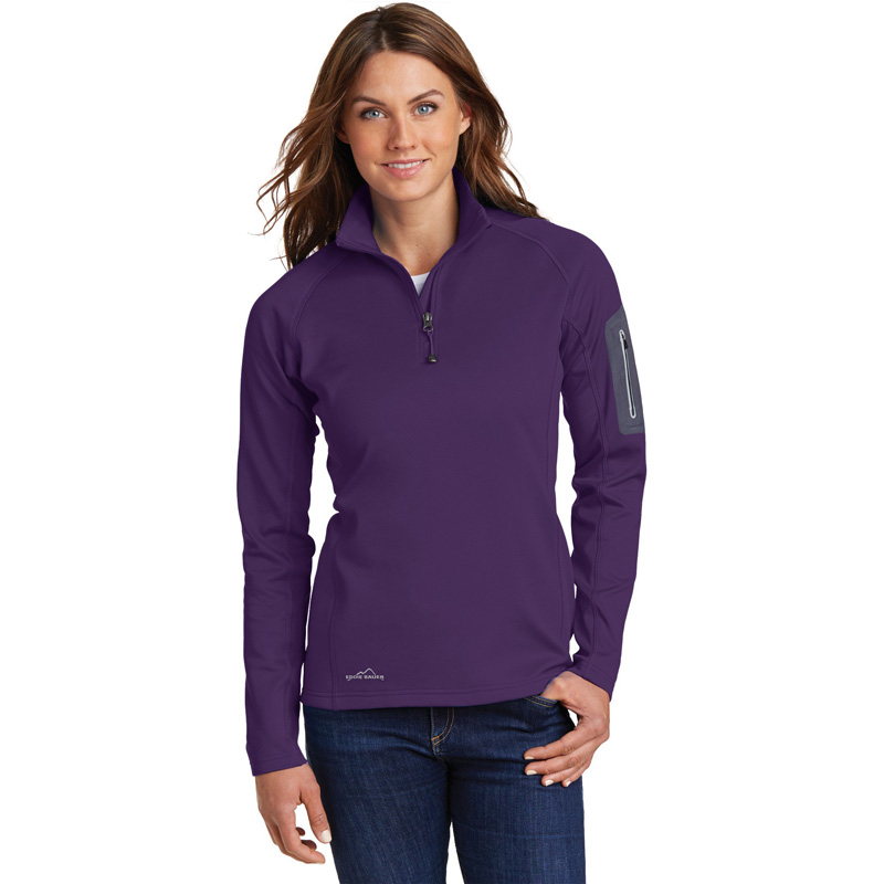 Eddie Bauer ®  Ladies 1/2-Zip Performance Fleece Jacket. EB235