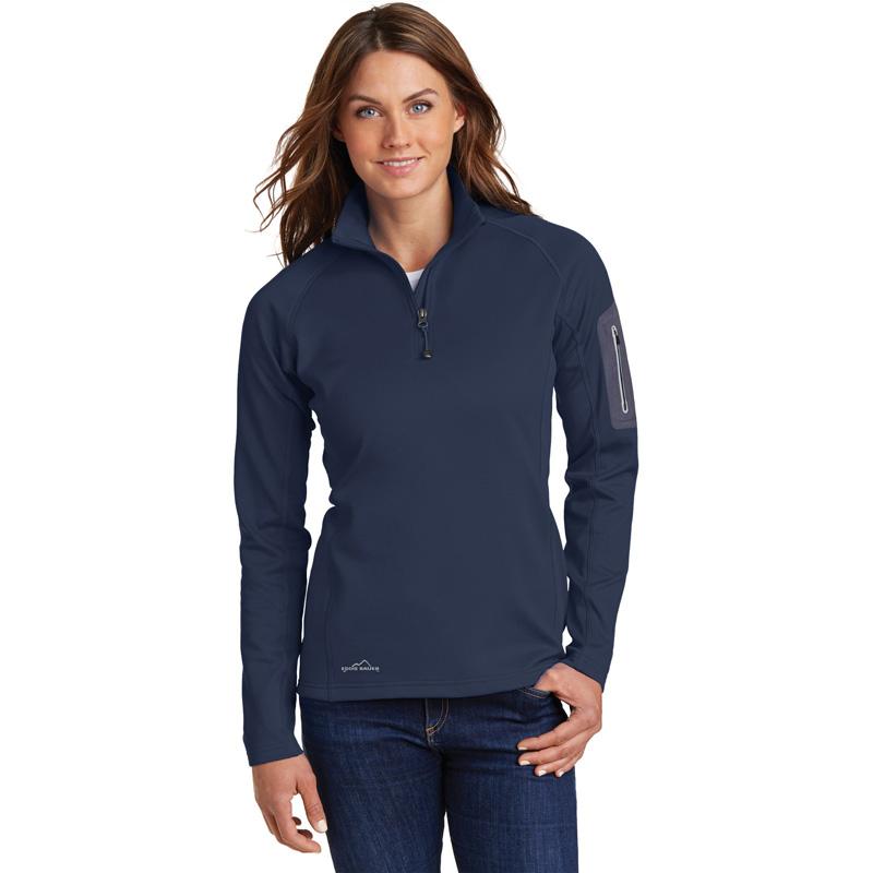 Eddie Bauer ®  Ladies 1/2-Zip Performance Fleece Jacket. EB235