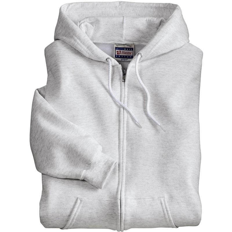 Hanes ®  Ultimate Cotton ®  - Full-Zip Hooded Sweatshirt.  F283