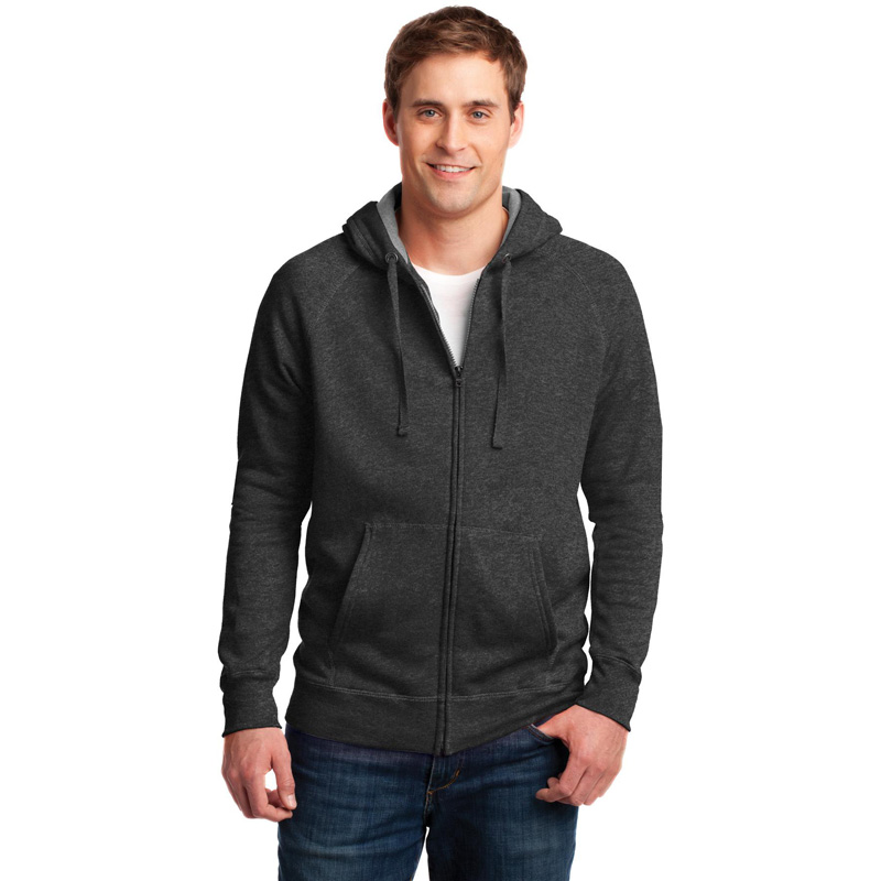 Hanes ®  Nano Full-Zip Hooded Sweatshirt. HN280