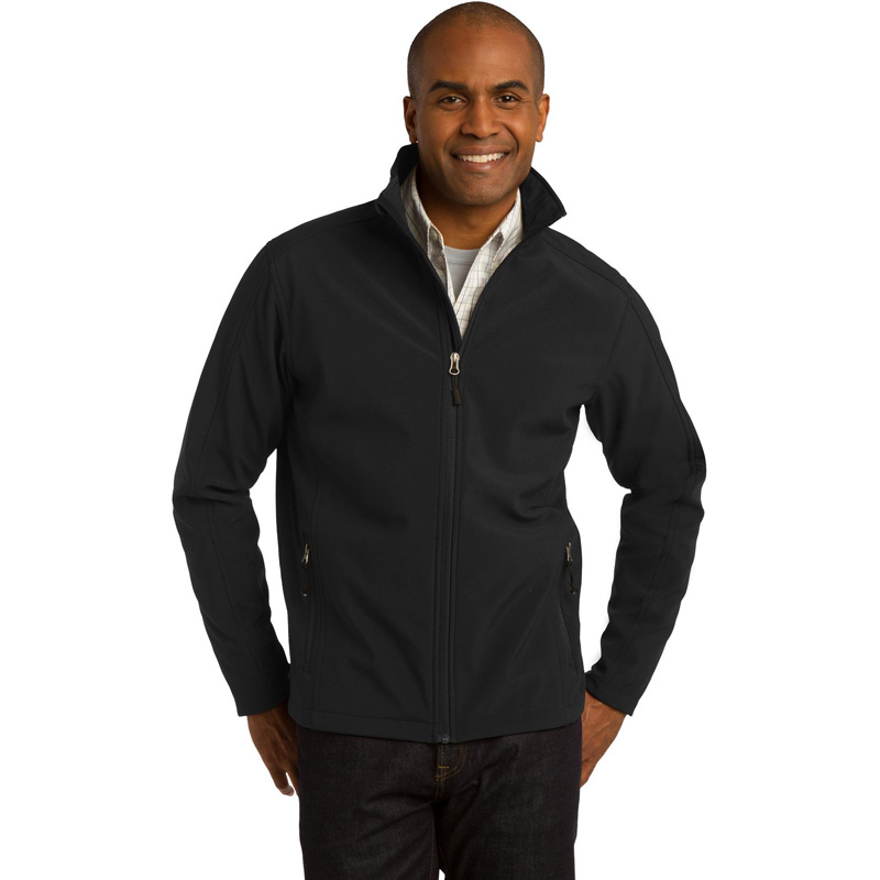 10 Year - Men's Extended Sizes Port Authority Core Soft Shell Jacket. J317