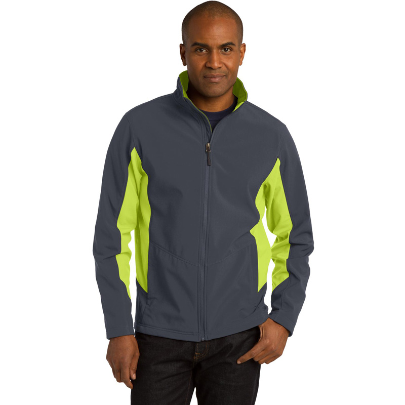 Port Authority ®  Tall Core Colorblock Soft Shell Jacket. TLJ318