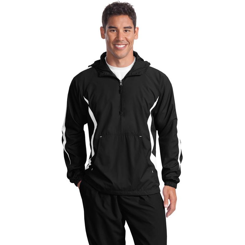 Sport-Tek ®  Colorblock Anorak. JST63