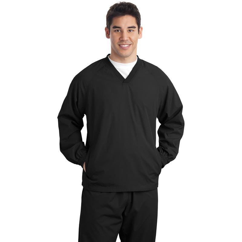 Sport-Tek ®  V-Neck Wind Shirt. JST72