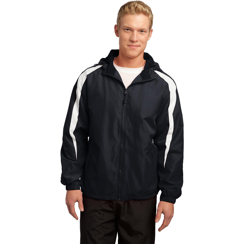 Sport-Tek ®  Fleece-Lined Colorblock Jacket. JST81