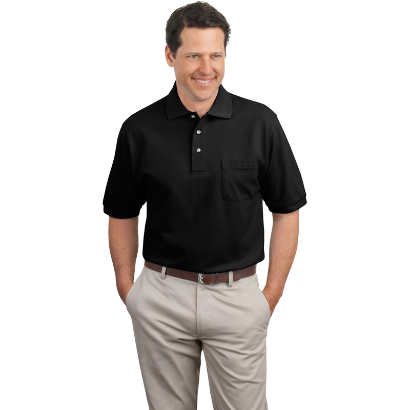 Port Authority ®  Pique Knit Polo with Pocket.  K420P