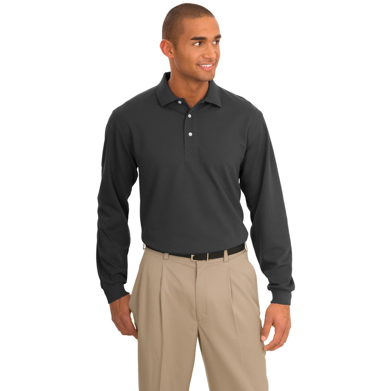 Port Authority ®  Rapid Dry™ Long Sleeve Polo.  K455LS