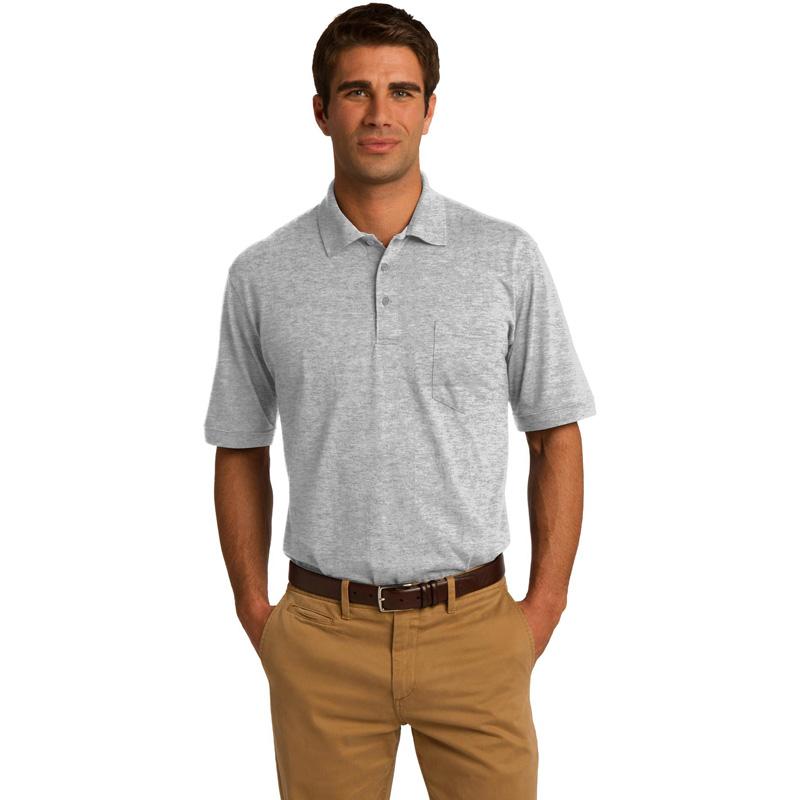 Port & Company ®  Core Blend Jersey Knit Pocket Polo. KP55P