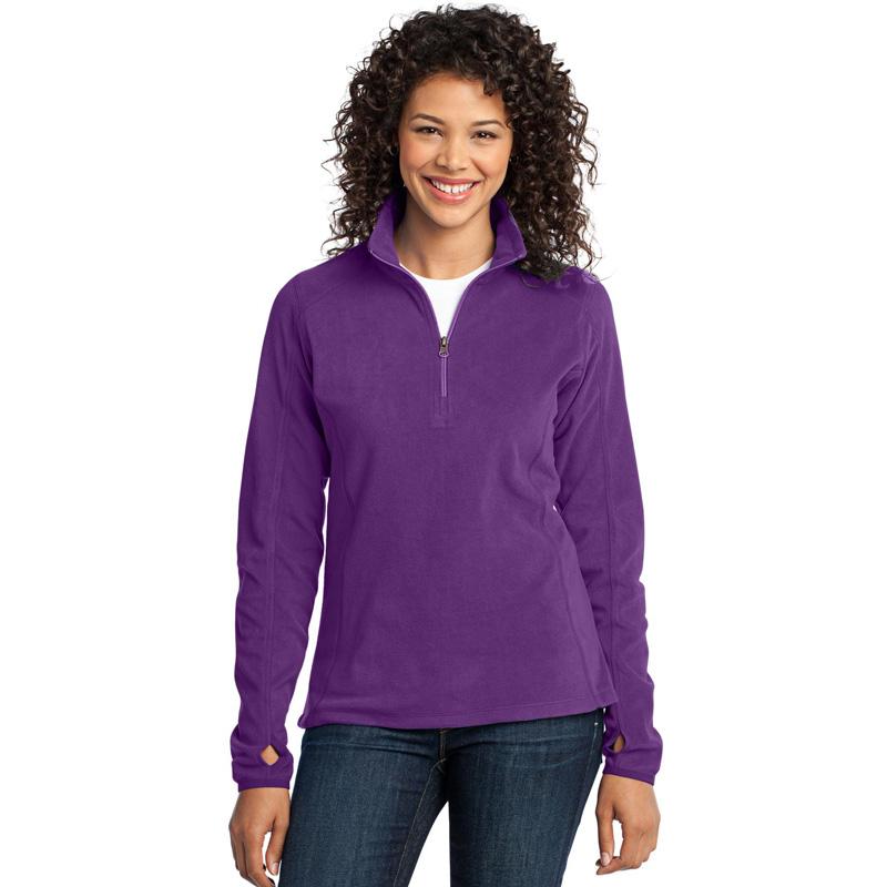 Port Authority ®  Ladies Microfleece 1/2-Zip Pullover. L224