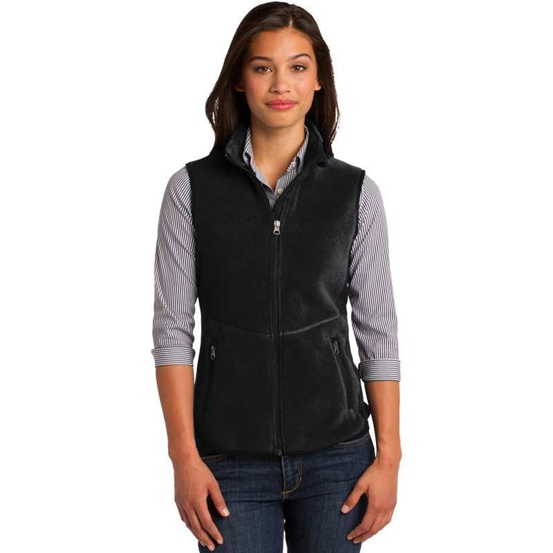 Port Authority ®  Ladies R-Tek ®  Pro Fleece Full-Zip Vest. L228