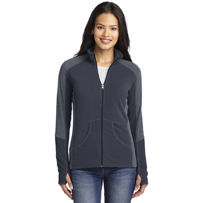 Port Authority ®  Ladies Colorblock Microfleece Jacket. L230