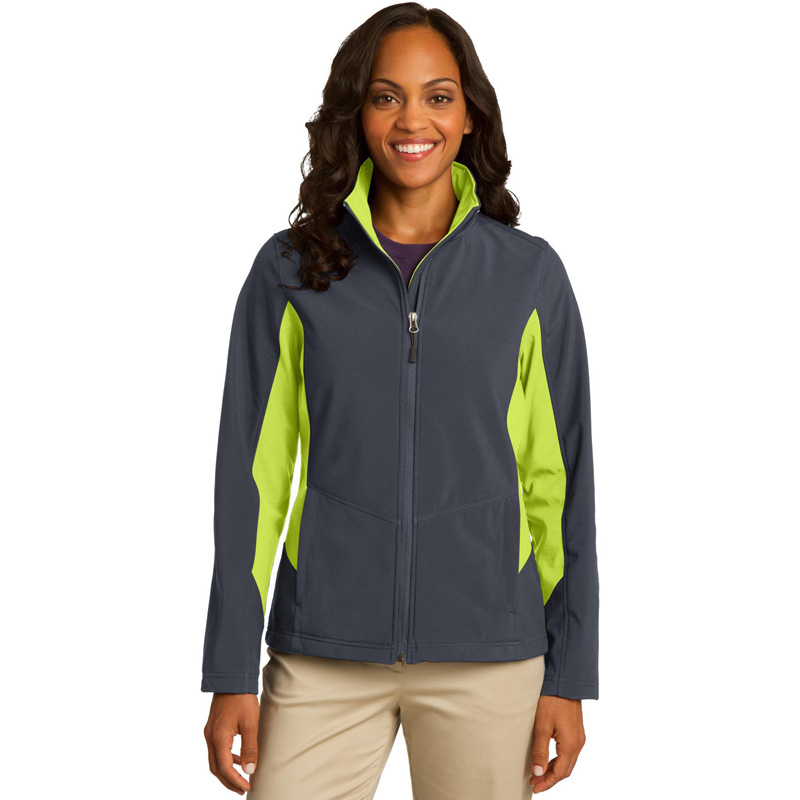 Port Authority 174  Ladies Core Colorblock Soft Shell Jacket. L318
