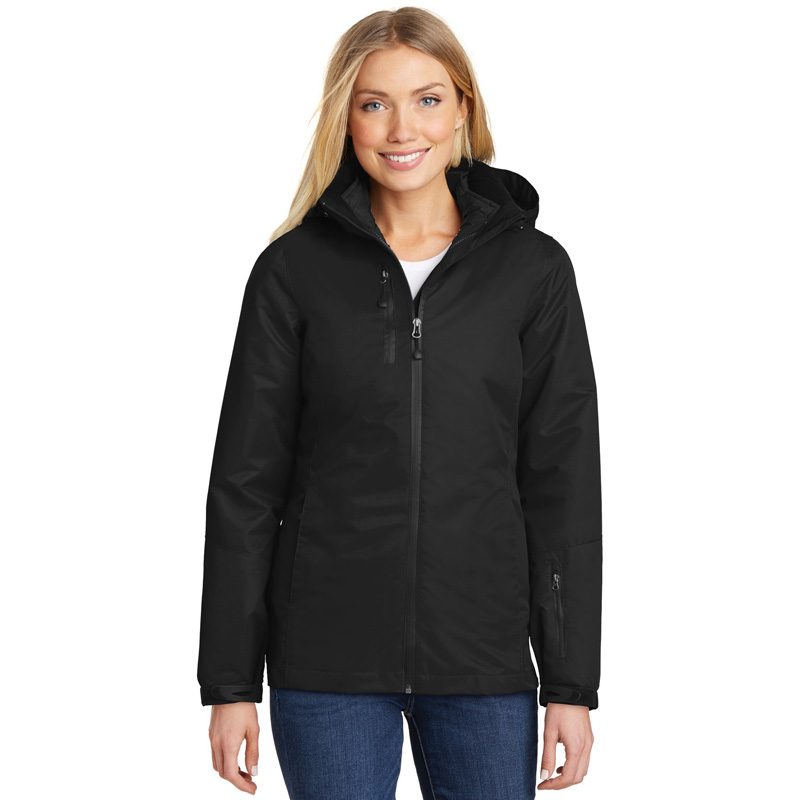Port Authority ®  Ladies Vortex Waterproof 3-in-1 Jacket. L332
