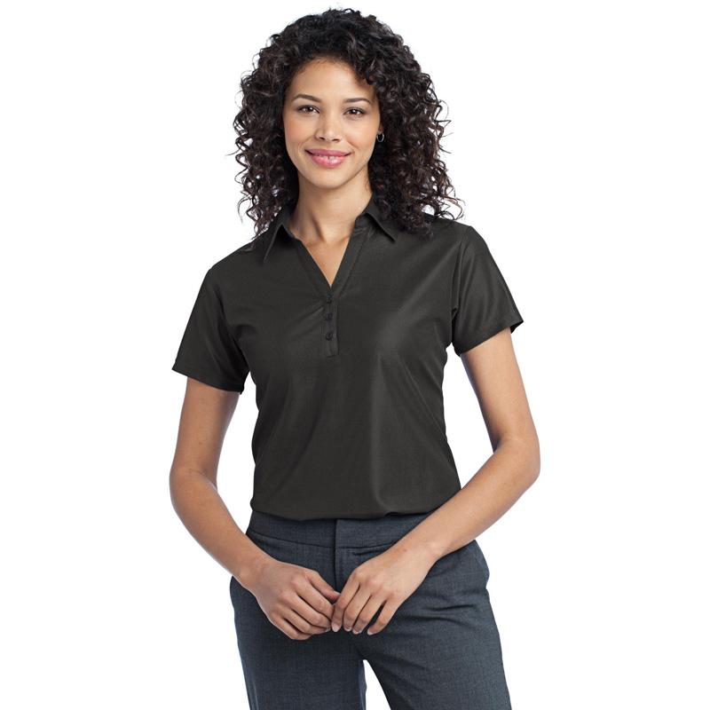 Port Authority ®  Ladies Vertical Pique Polo. L512