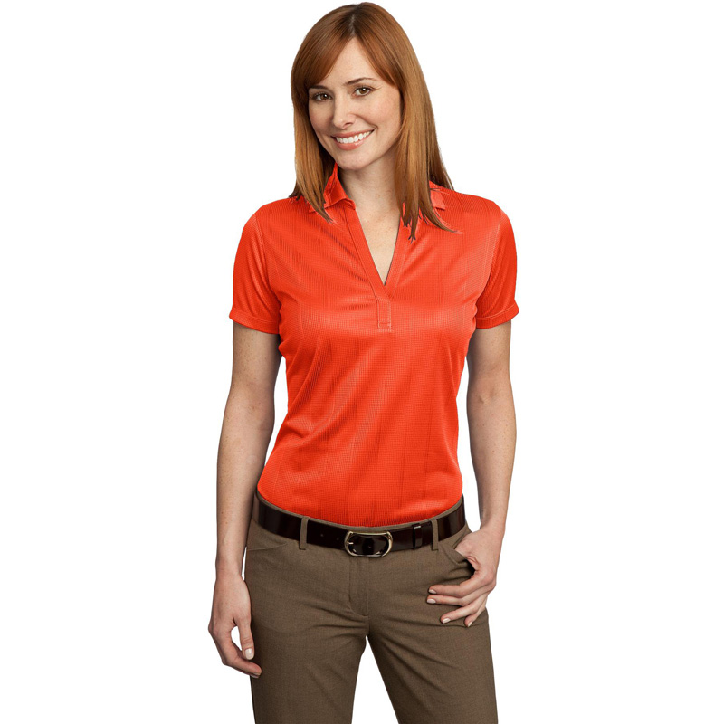 Port Authority ®  Ladies Performance Fine Jacquard Polo. L528