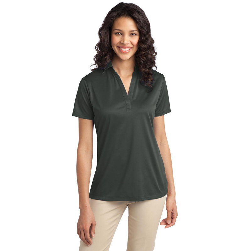 CK Ladies Port Authority Silk Touch Performance Polo. L540