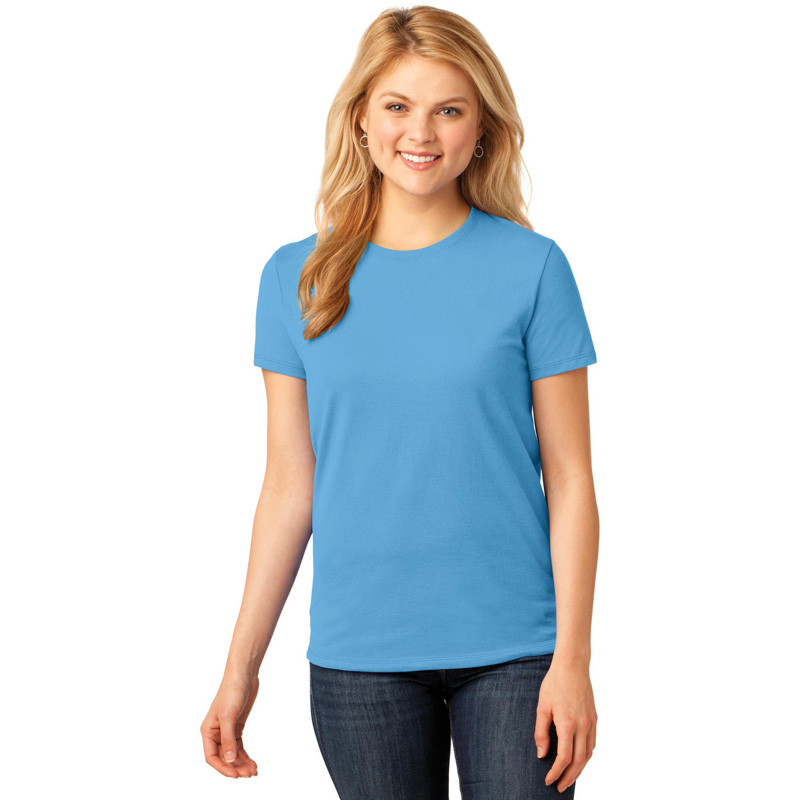 Port & Company ®  Ladies Core Cotton Tee. LPC54