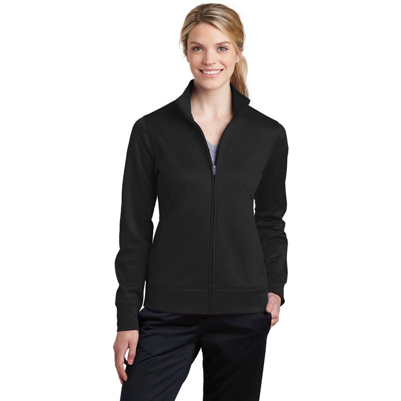 Sport-Tek ®  Ladies Sport-Wick ®  Fleece Full-Zip Jacket.  LST241