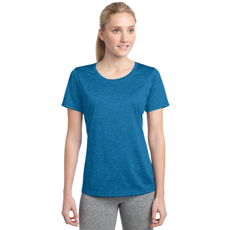 Sport-Tek ®  Ladies Heather Contender ™  Scoop Neck Tee. LST360