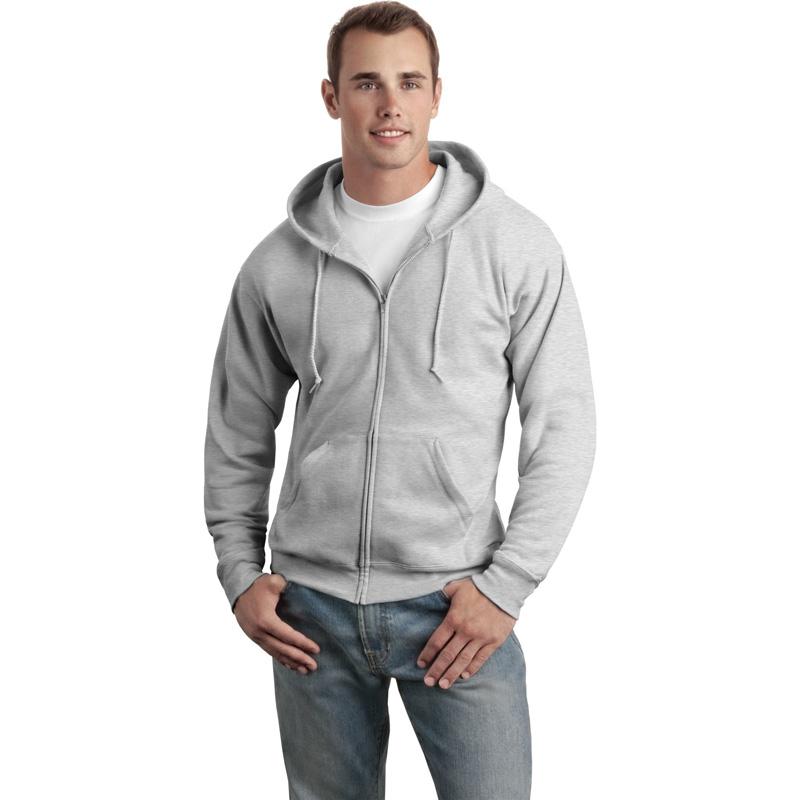 Hanes ®  - EcoSmart ®  Full-Zip Hooded Sweatshirt. P180