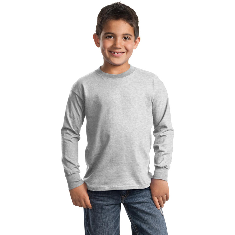 Port & Company ®  - Youth Long Sleeve Essential T-Shirt. PC61YLS