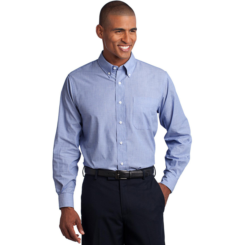 Port Authority ®  Tall Crosshatch Easy Care Woven Shirt. TLS640