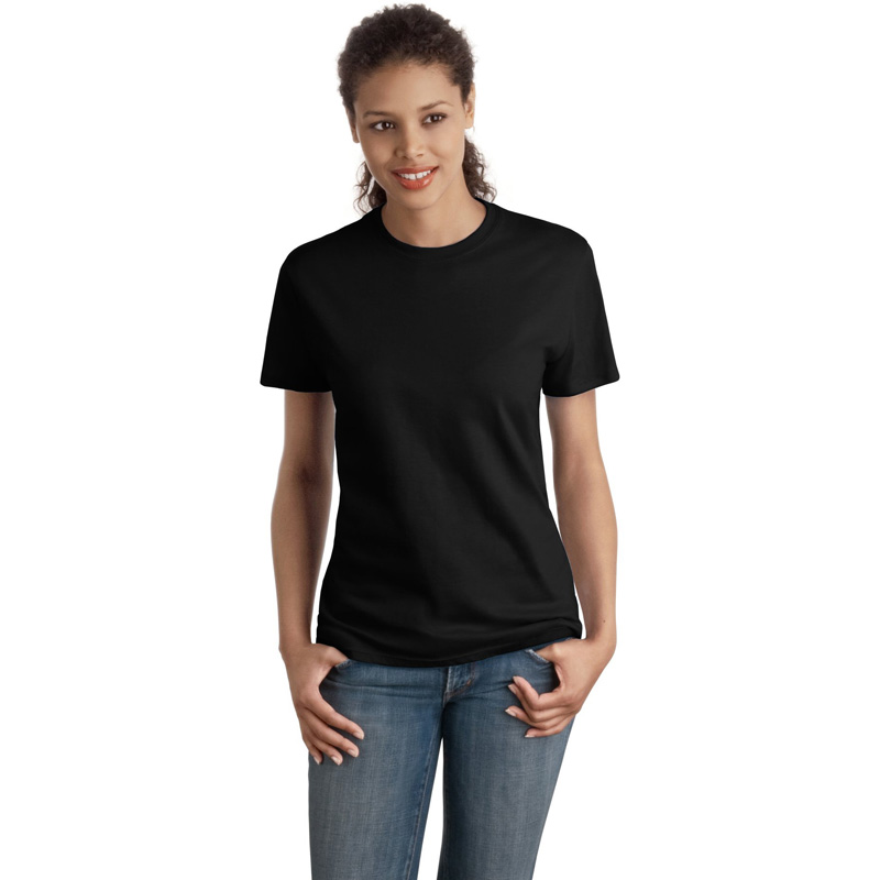 Hanes ®  - Ladies Nano-T ®  Cotton T-Shirt. SL04