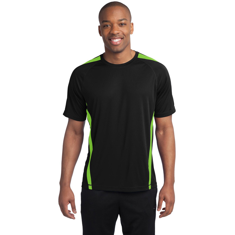 Sport-Tek ®  Tall Colorblock PosiCharge ®  Competitor™ Tee. TST351
