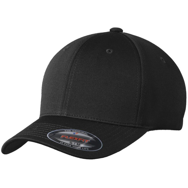 Sport-Tek ®  Flexfit ®  Cool & Dry Poly Block Mesh Cap. STC22