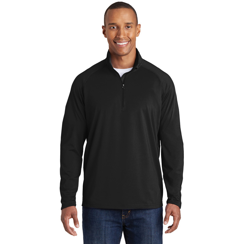 Sport-Tek ®  Tall Sport-Wick ®  Stretch 1/2-Zip Pullover. TST850