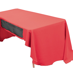 Show 'N' Stow Table Throw Pocket