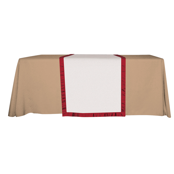 """28"""" Accent Table Runner (Unimprinted)"""