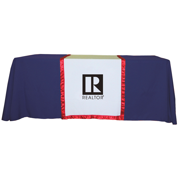 """28"""" Accent Table Runner (1-Color Imprint)"""