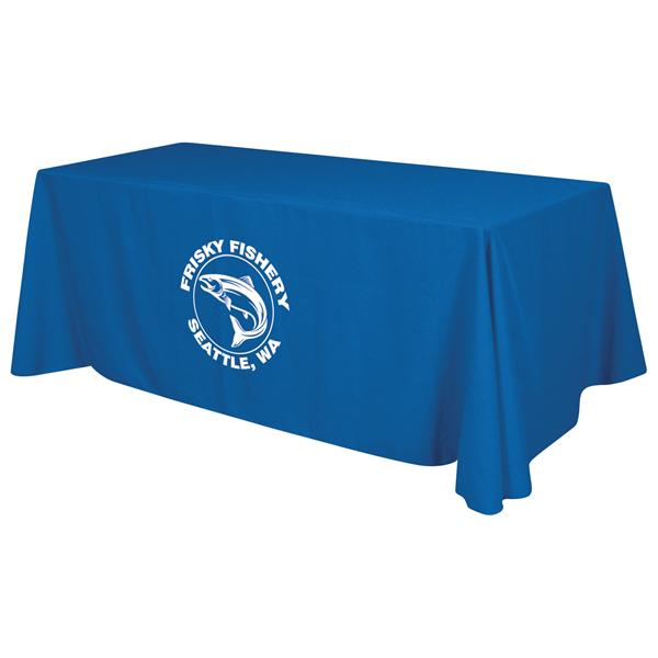 6' Economy Table Throw (1-Color Imprint)