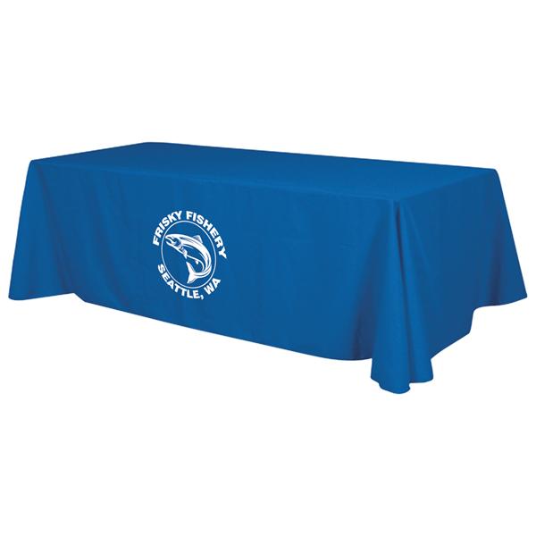 8' Economy Table Throw (1-Color Imprint)