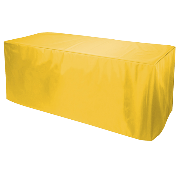 6' Decobrite Nylon Table Cover 4-Sided (Unimprinted)