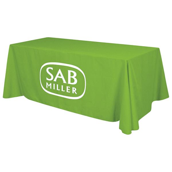 6' Standard Table Throw (1-Color Imprint)