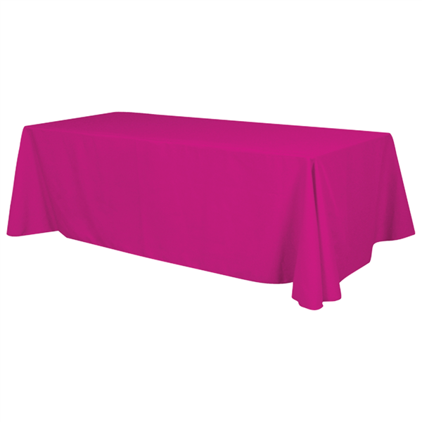 8' Standard Table Throw (Unimprinted)