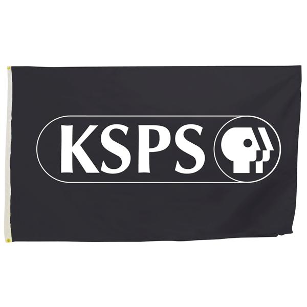 2' x 3' Flag (1-Color Imprint)