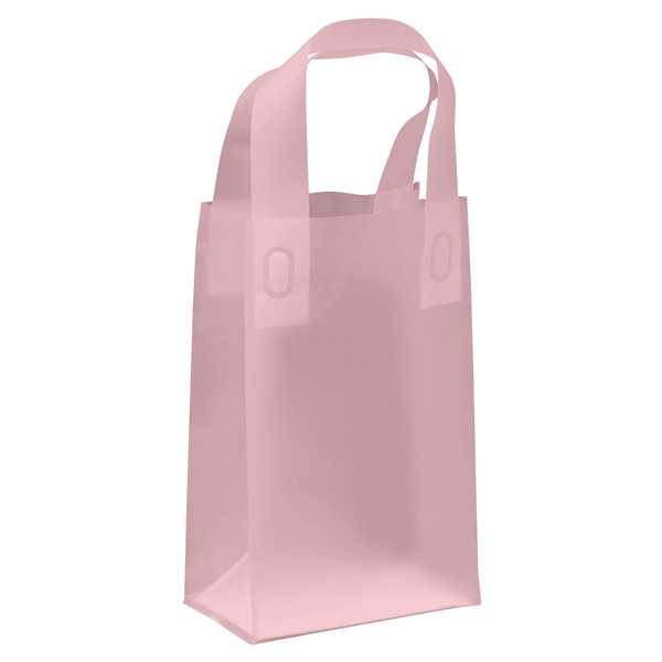 "Frosted Shopper 5""W x 3""D x 8""H (Unimprinted)"