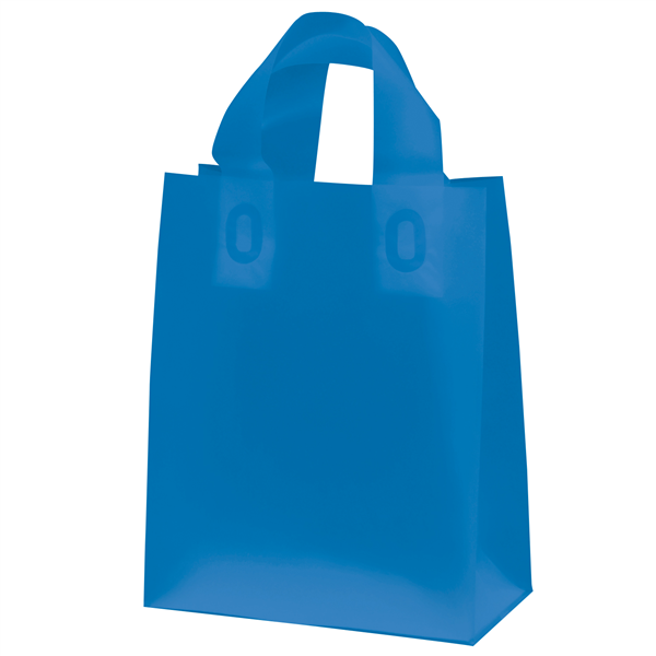 "Frosted Shopper 8""W x 4""D x 10""H (Unimprinted)"