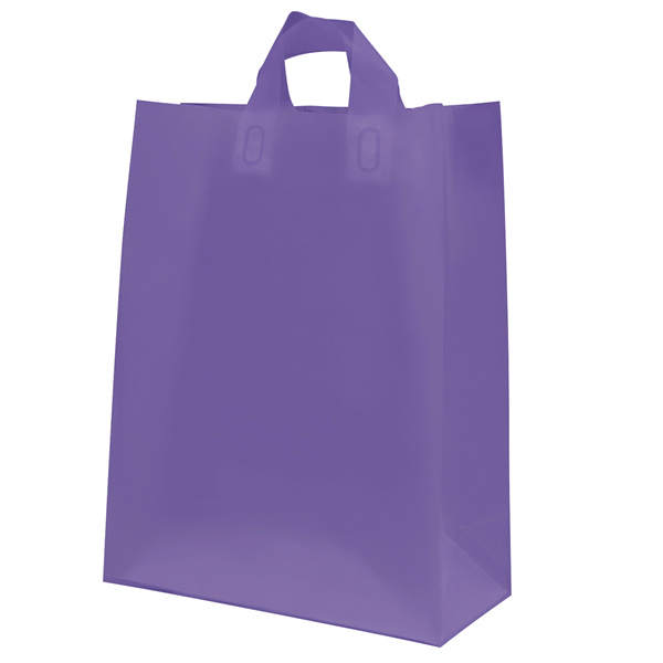 "Frosted Shopper 10""W x 5""D x 13""H (Unimprinted)"