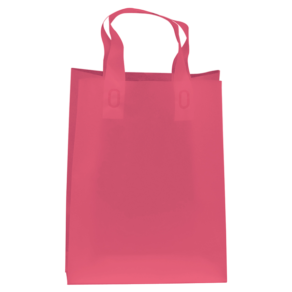 "Frosted Shopper 13""W x 6""D x 17""H (Unimprinted)"