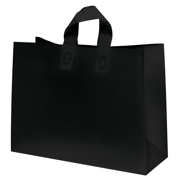 "Frosted Shopper 16""W x 6""D x 12""H (Unimprinted)"